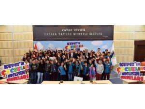 Tütüncü, Şerife Tufan Ortaokulu Öğrencilerini Ağırladı