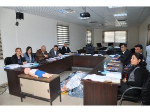 ASKİ personeline sertifikalı ilk yardım eğitimi