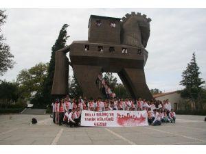 Gaziantepli Öğrencilere Tarihi Gezi