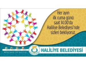 Haliliye Belediyesinde Halk Günü Toplantısı 1 Nisan'da Yapılacak