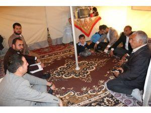 Göç Komisyonu Akçakale Çadırkenti Ziyaret Etti