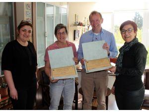 Hollandalı süs bitkileri ıslahçıları seminer verdi