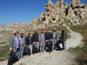 Kapadokya'da Temizlik Kampanyası