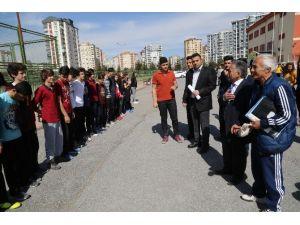 Başkan Büyükkılıç Ve Ekibinin Mustafa Eraslan Anadolu Lisesi Ziyareti