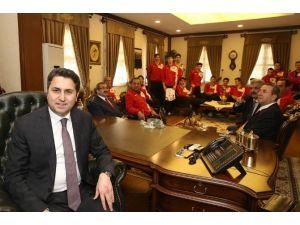 Tokat'ta Avrupa Voleybol Şampiyonası