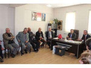 Başkan Tahir Şahin Ve Cevat Durak Ziyaretlerini Tamamladı