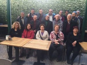 Emekli Vergi Dairesi Memurları Yemekte Buluştu
