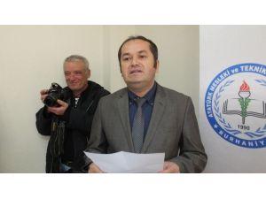 Burhaniye'de Geleceğin Sağlıkçıları Projelerini Tanıttı