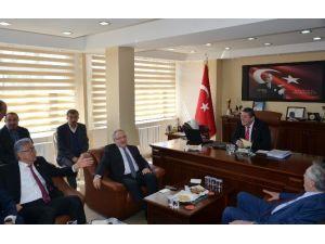 CHP Genel Başkan Yardımcısı Haluk Koç Alaplı'yı Ziyaret Etti