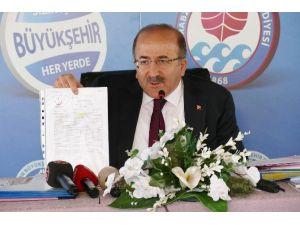Başkan Gümrükçüoğlu, Büyükşehir'deki 2. Yılını Düzenlediği Basın Toplantısıyla Değerlendirdi