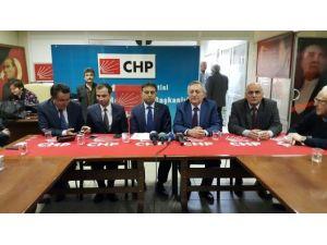 CHP İl Başkanına Ziyaretler Sürüyor