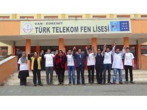 Van Türk Telekom Fen Lisesi YGS'de Çıtayı Aştı