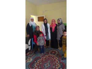 Samsat'ta Engelli Bayanlara Saç Bakım Hizmeti Veriliyor