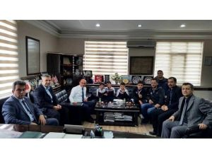 Başkan Oral, Özel Ziyaretçilerini Ağırladı