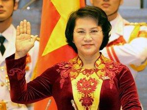 Vietnam'a ilk kadın meclis başkanı