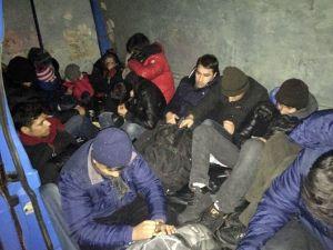 İnsan Kaçakçılığı Jandarmaya Takıldı