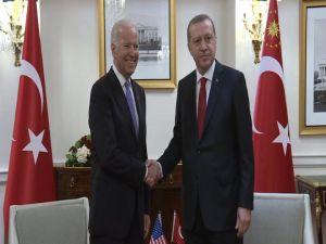Cumhurbaşkanı Erdoğan, Biden'i kabul etti