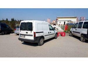 Heliporta Ambulans Girişine Araç Parkı Engeli