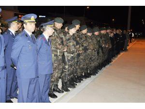 Şehit polisin cenazesi memleketi Amasya'ya getirildi