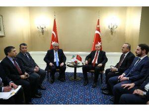 Cumhurbaşkanı Erdoğan, Cezayir Başbakanı Sellal İle Görüştü