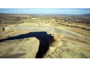 Uşak'ta Bozlar Göleti Tamamlandı
