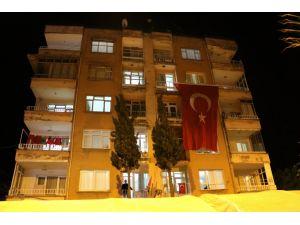 Şehit polisin Hatay'daki evine acı haber ulaştı