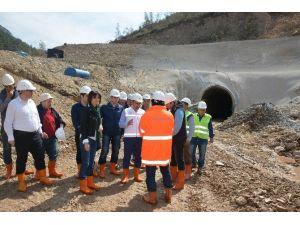 Alanya Yeniköy Baraj İnşaatı Çalışmaları