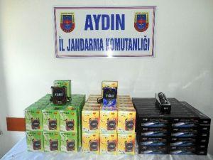 Aydın'da Kaçak Radyo Ve El Feneri Yakalandı