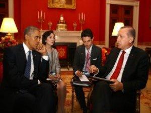Erdoğan ve Obama'dan 50 Dakikalık Kritik Görüşme