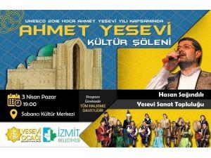 İzmit'te Ahmet Yesevi Kültür Şöleni Yapılacak