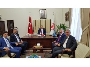 Bölge Milletvekilleri Bakan Faruk Çelik'i Ziyaret Etti