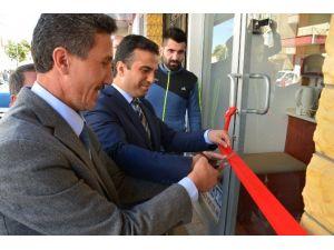 Kaymakam Ve Belediye Başkanı İş Yeri Açılışı Yaptı