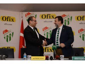 Bursaspor'un ofis malzemeleri Ofix'den