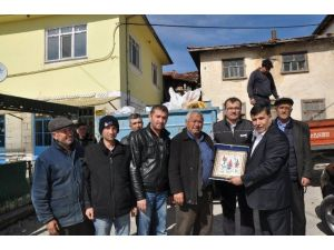 Emet Belediyesi Türkmenler İçin Yardım Kampanyası Başlattı