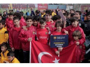 Fcbescola İstanbul Tivibu Futbol Okulu Türkiye'yi Barselona'da Temsil Etti