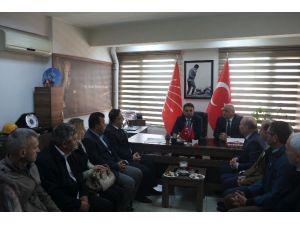MHP'den CHP'ye Geçmiş Olsun Ziyareti