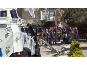 Terörist Cenazesinde Yoğun Güvenlik Önlemi