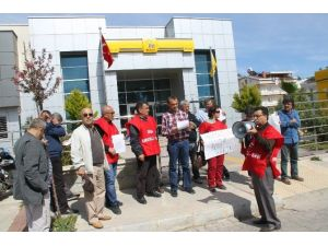 Didim'de Emekli Sen Üyeleri Bir Maaş Promosyon İstedi