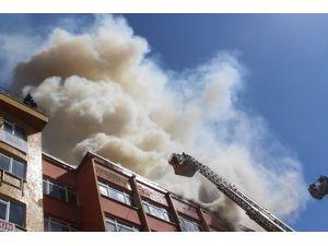 Erzurum'da Büyük Yangın