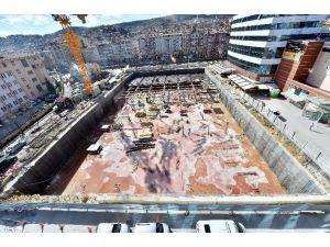 Kastamonu'da Otopark Projesi İnşaatı Devam Ediyor