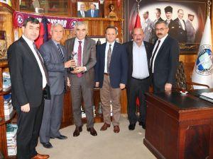 Orman-iş Genel Başkanı GMİS'i Ziyaret Etti