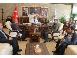 Şehit Ailesinden Başkan Şanverdi'ye Ziyaret