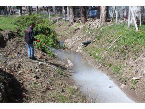 Toprakale Belediyesi sivrisinekle mücadeleye başladı