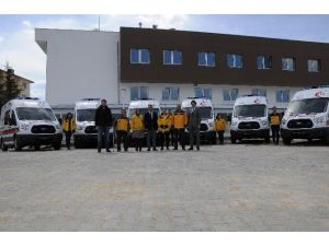 112'ye 8 Yeni Ambulans