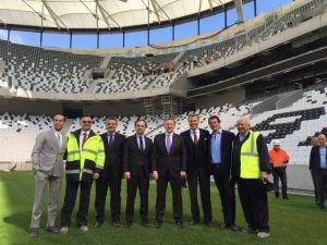 Orman, Kulüpler Birliği Vakfı Başkanı'nı Vodafone Arena'da Ağırladı