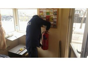 Teski Tesislerinde Yangın Önlemleri Arttırılıyor