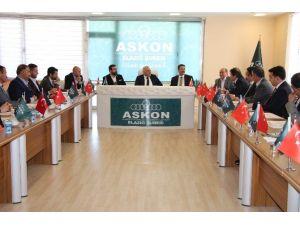 Vali Zorluoğlu'ndan ASKON'a Ziyaret