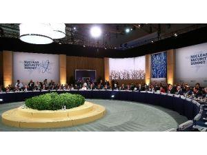 Cumhurbaşkanı Erdoğan, Nükleer Güvenlik Zirvesi Çalışma Yemeğine Katıldı