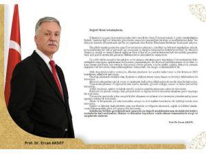 BEÜ Rektör Yardımcısı Prof. Dr. Aksoy, Rektör Adaylığını Açıkladı