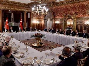 Cumhurbaşkanı Erdoğan ABD'li kanaat önderleriyle görüştü